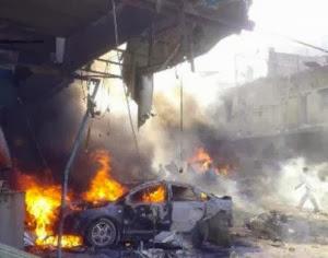 Gambar Letupan Bom Kereta Ragut 40 Nyawa Di Syria
