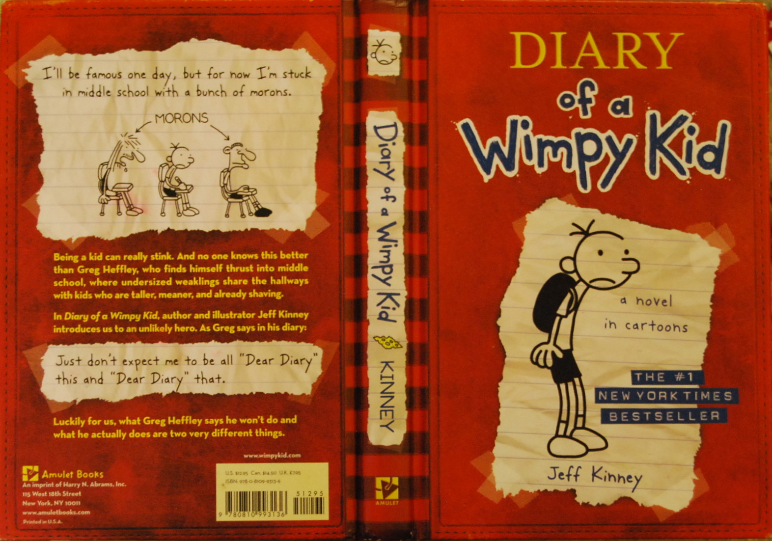 Lps Diary Of A Wimpy Kid Cover