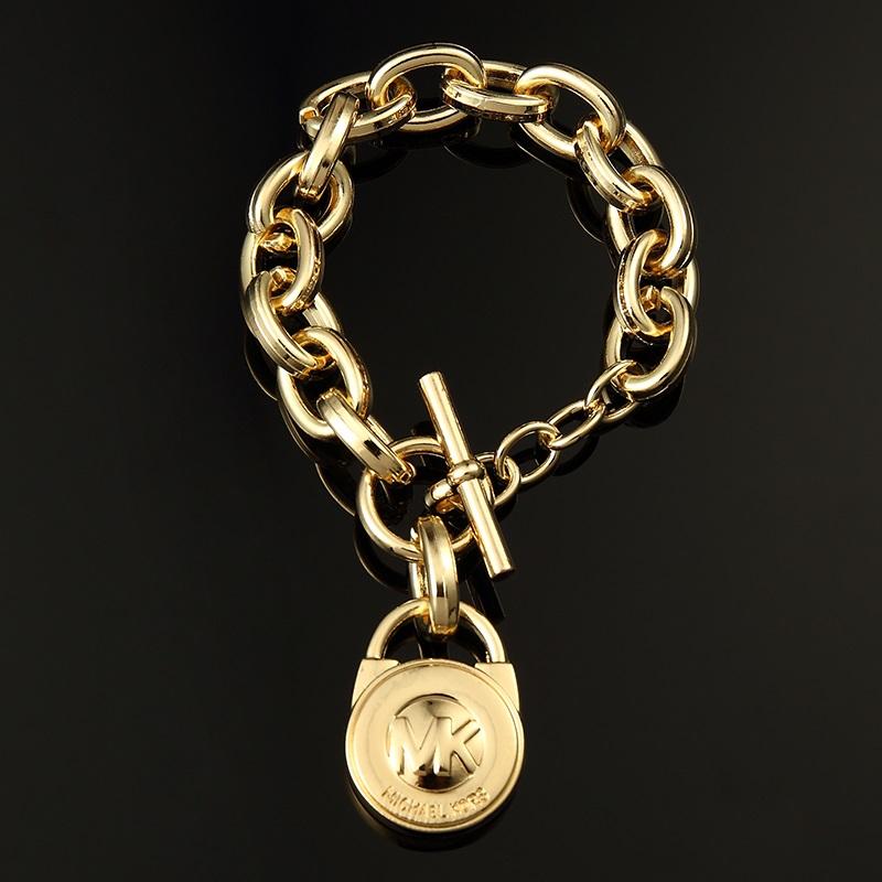 Free Padlock Gold Chain Bracelet