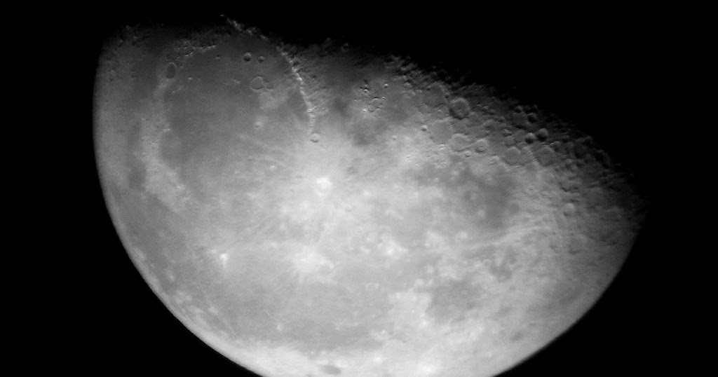 AstroFotoNoticiasGranCanaria: Foto de La Luna en cuarto ...