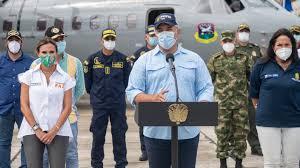 """""""Hasta el momento, no hay evidencia de presencia de nueva cepa de covid-19 en Colombia"""": Duque"""