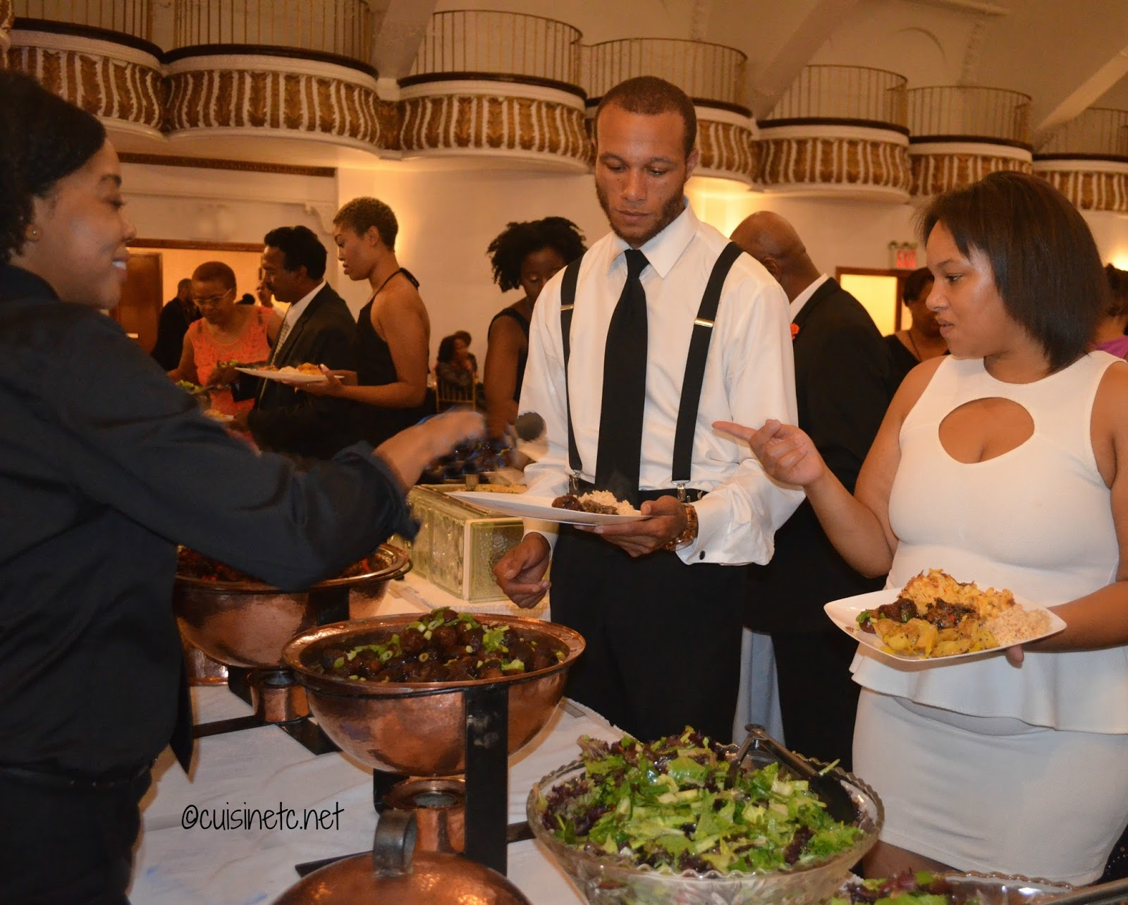 Not Your Traditional Harlem Wedding Menu This Bride And Groom Requested Global Bold Flavors That Honored Their Religious Beliefs No Pork Or Shellfish As