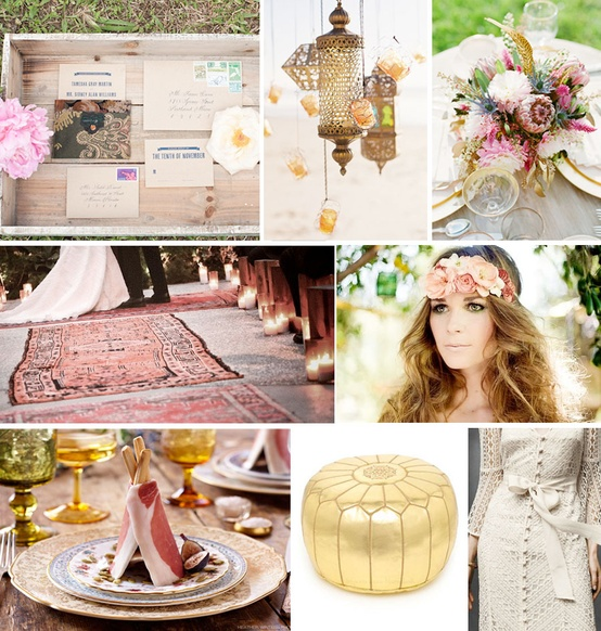 Matrimonio Tema Bohemien : Inspired admired over bohemian earthy wedding