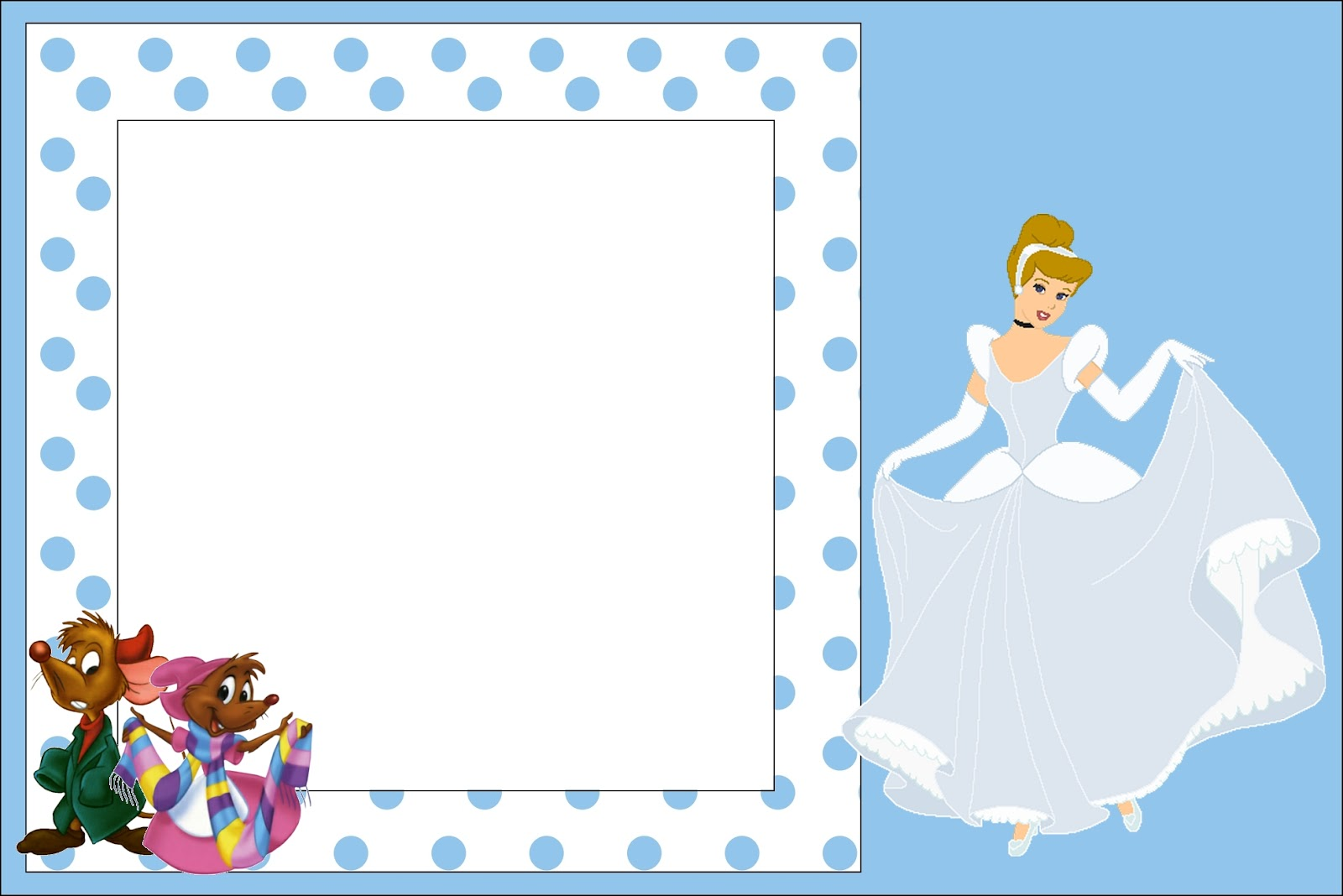 cinderella free printable invitations oh my fiesta in english. Black Bedroom Furniture Sets. Home Design Ideas