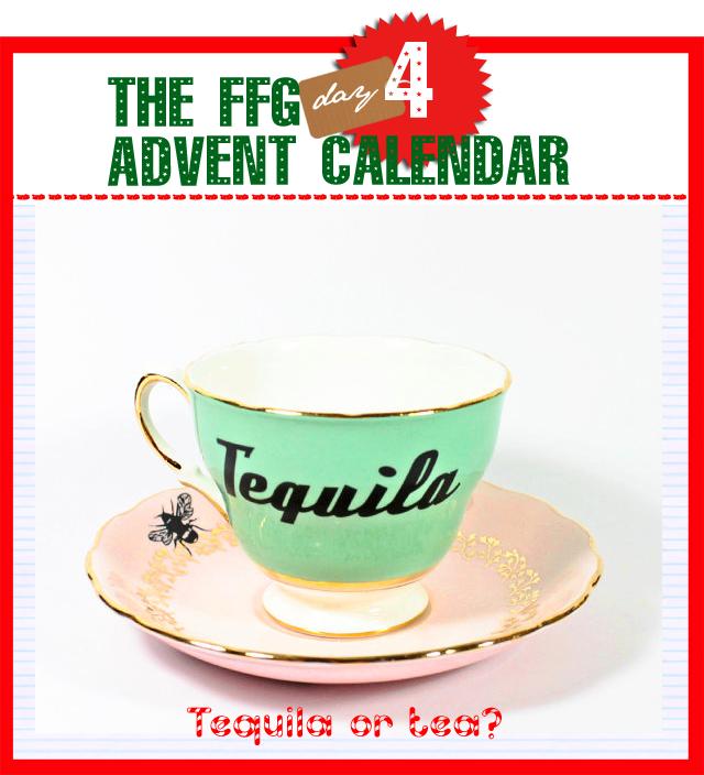 Tea Tequila Cup