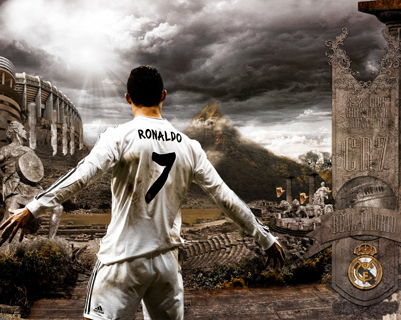 Wallpaper CR7 Terbaru
