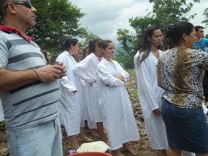 Batismo em águas...