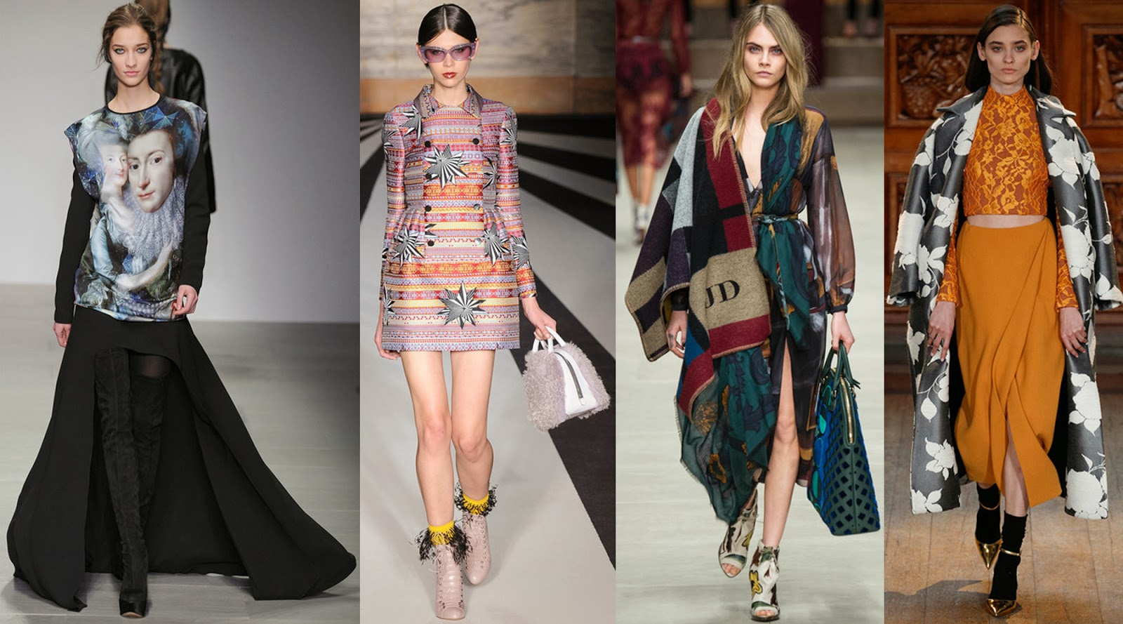 london+fashion+week+fall+2014+trends+prints