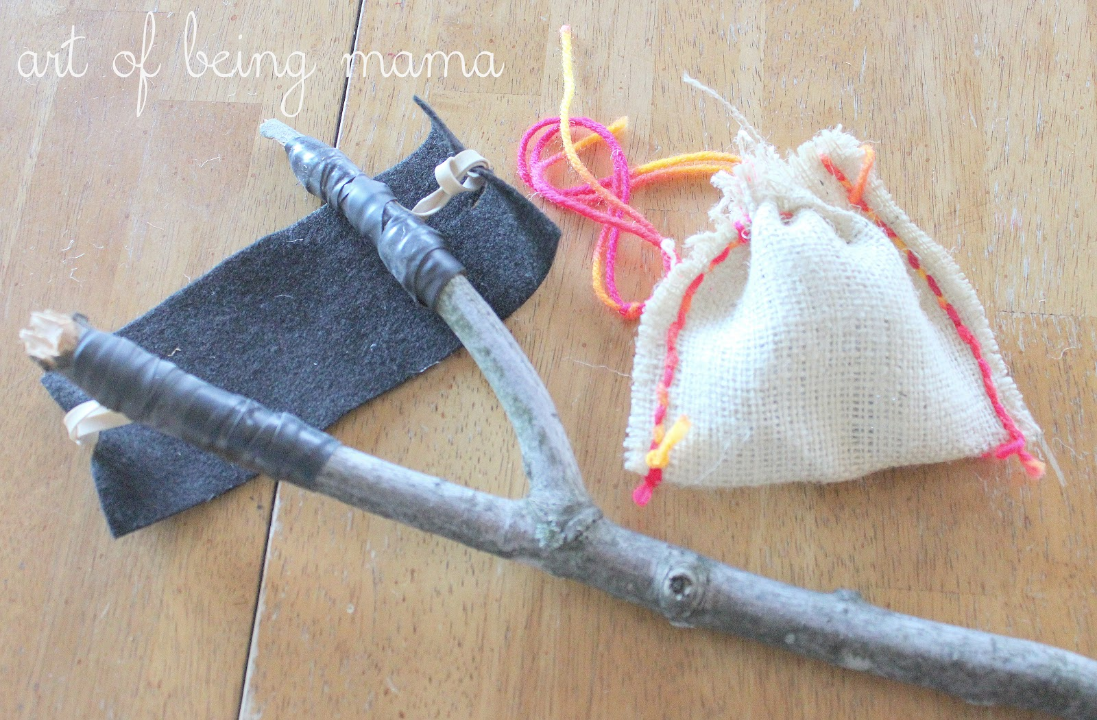 the art of being mama homemade fun toy slingshot