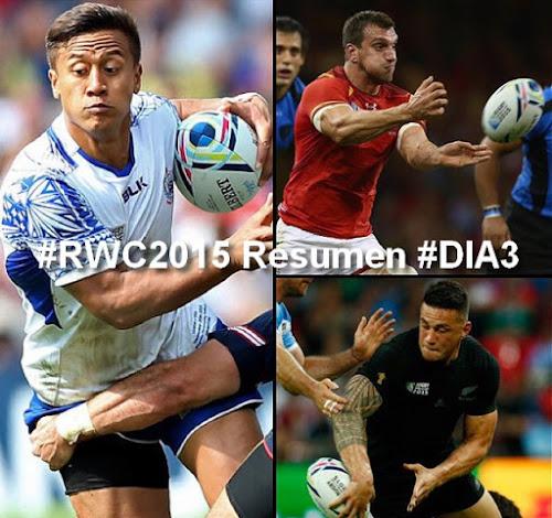 #RWC2015 Resumen #DIA3: Gales, contundente