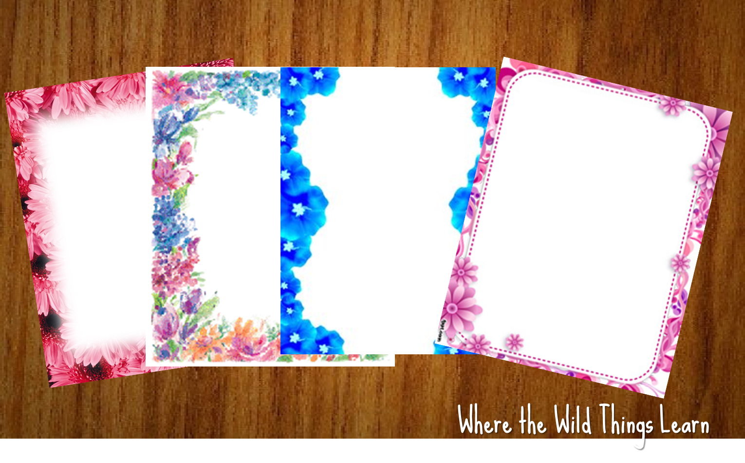 Decorated Paper Designs Decorated Writing Paper