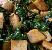 Tofu, Spinach