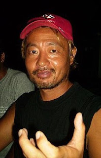 Hishashi Koze a Japanese diving instructor in Malaysia