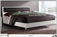 Tempat tidur desain minimalis modern alves