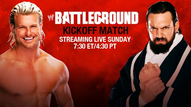 WWE Battleground Kickoff en vivo