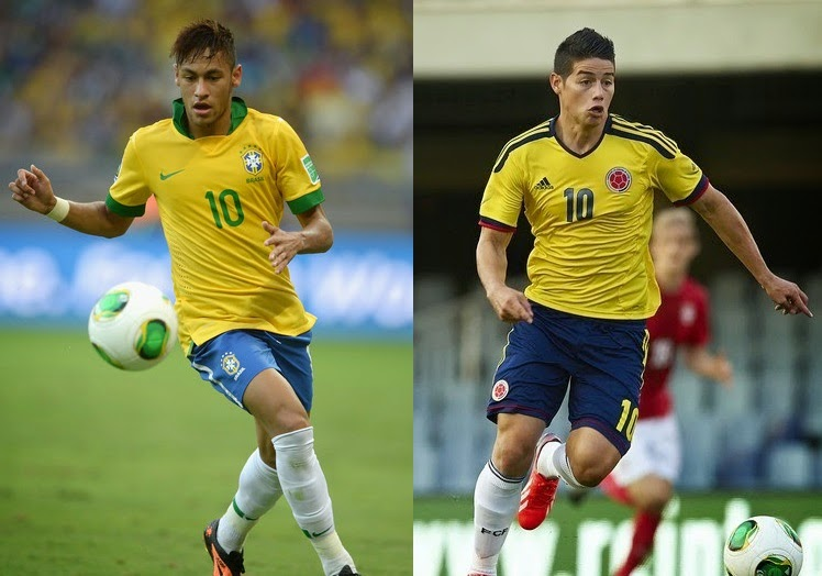 Neymar vs Rodriguez, who will come out on top?