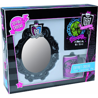 Coffret Monster High Mug Miroir et journal