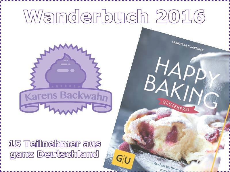 "[Aktion] Wanderbuch 2016 ""Happy Baking"""
