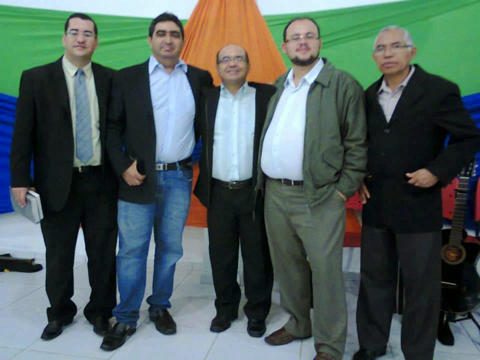Diretoria da 2ª Distrital das Igrejas Congregacionais do Brejo Paraibano