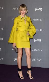 Cameron Diaz short yellow dress
