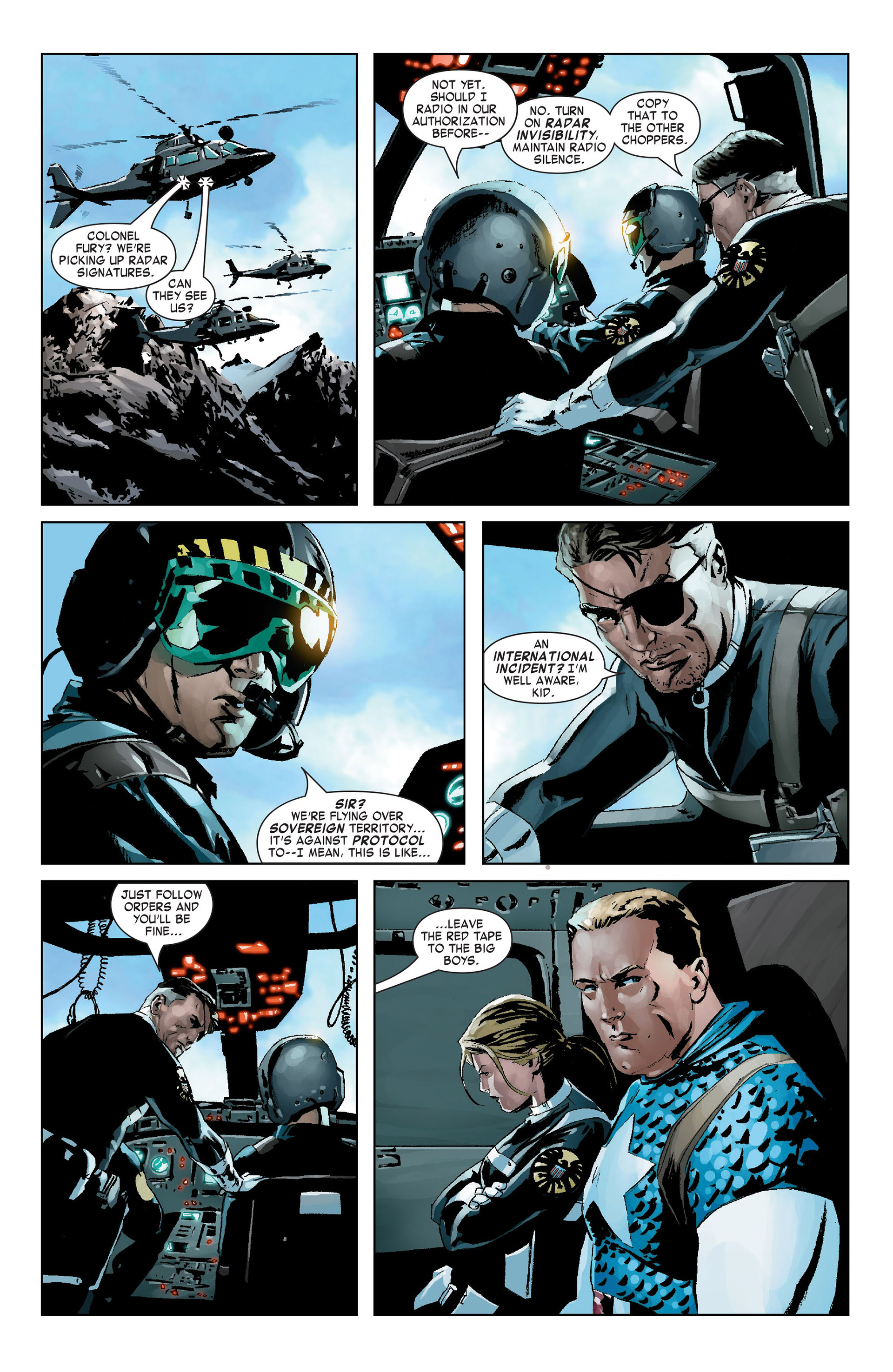 Captain America (2005) Issue #9 #9 - English 9