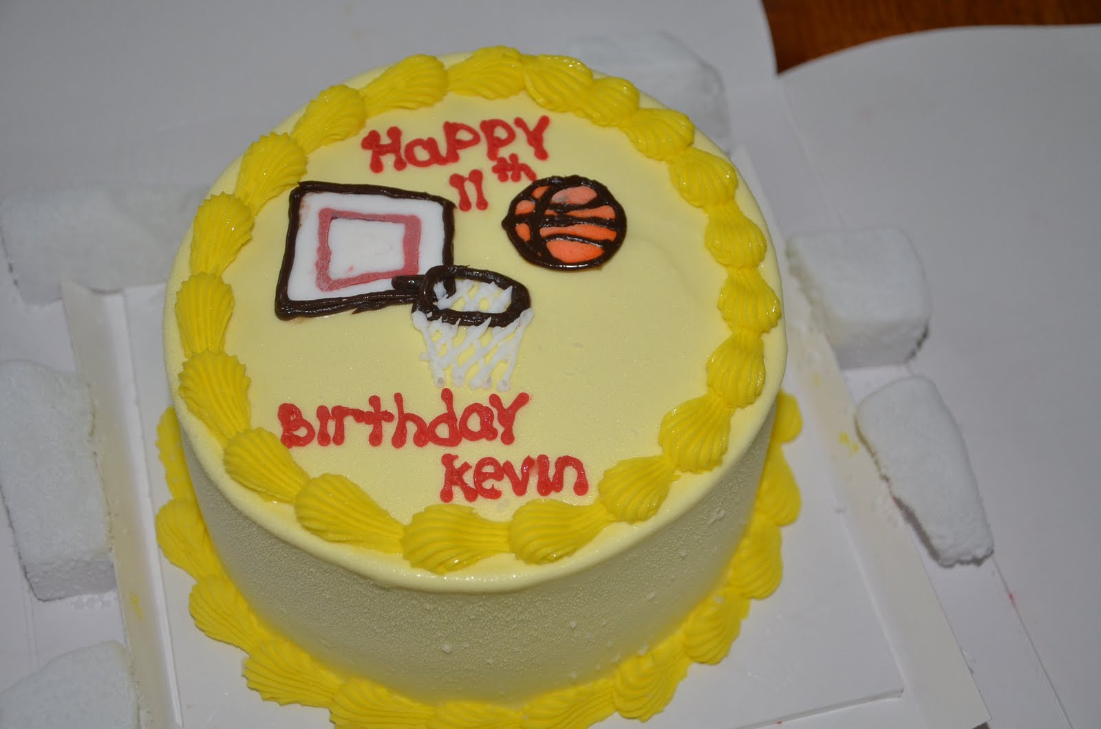 Birthday Cake Images With Name Kevin : metamorphosis: Kevin is Now 11!