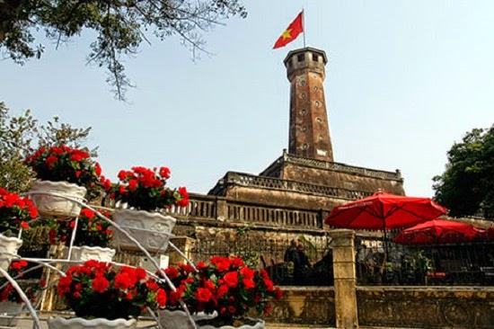 Hanoi Flag tower - a sacred symbol of Hanoi