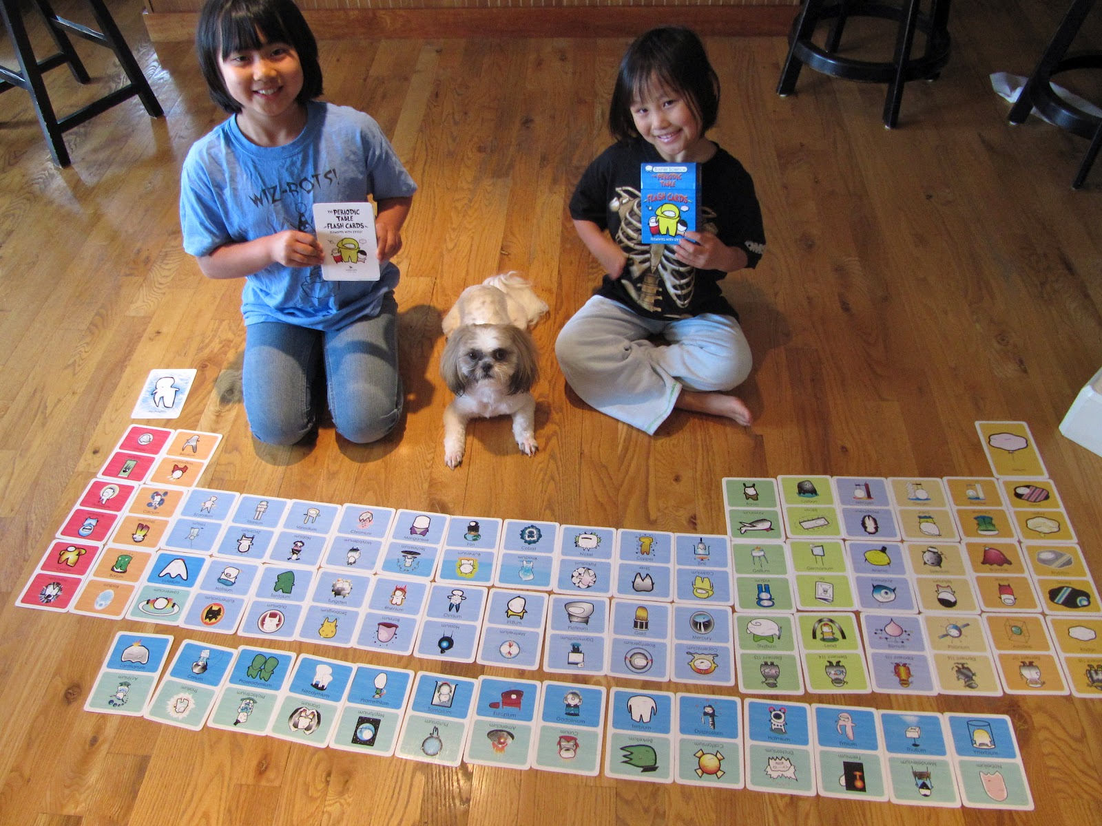 Periodic table flash cards online periodic diagrams science homeschool ninjas basher periodic table flashcards periodic table flash cards gamestrikefo Gallery