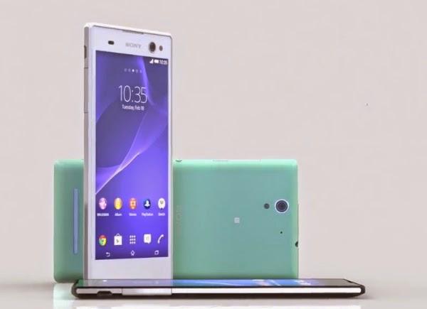 Sony Xperia C3, Smartphone Selfie harga 3 jutaan