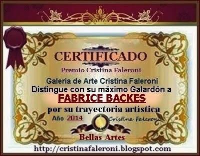 Fabrice Backes - Premiado