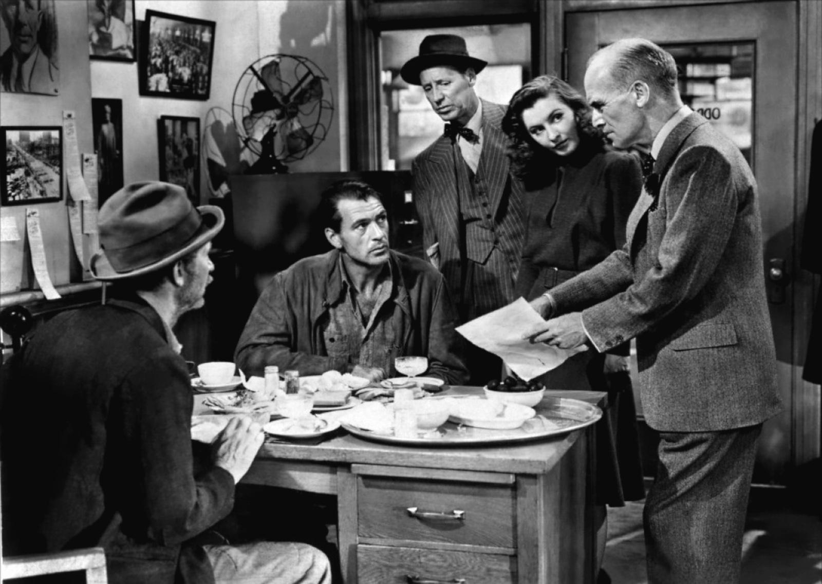 Fotograma de la película Juan Nadie (Meet John Doe) de Frank Capra