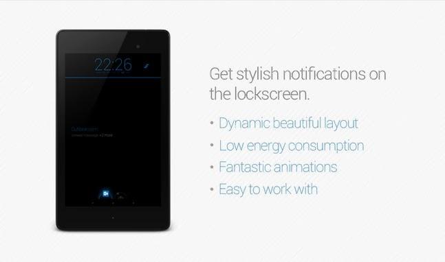 Knock²+ V2 // Notifications android apk - screenshoot