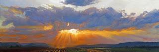 Las Nubes en Paisajes Naturales Oleo