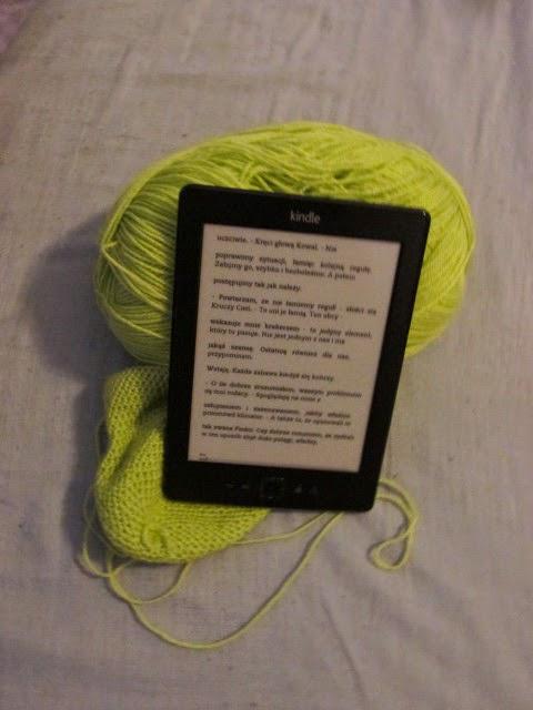 Wspólne dzierganie i czytanie - Pan Lodowego Ogrodu tom II