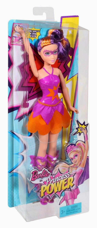 JUGUETES - BARBIE : Princess Power - Maddy | Muñeca  Producto Oficial Película 2015 | Mattel | A partir de 3 años