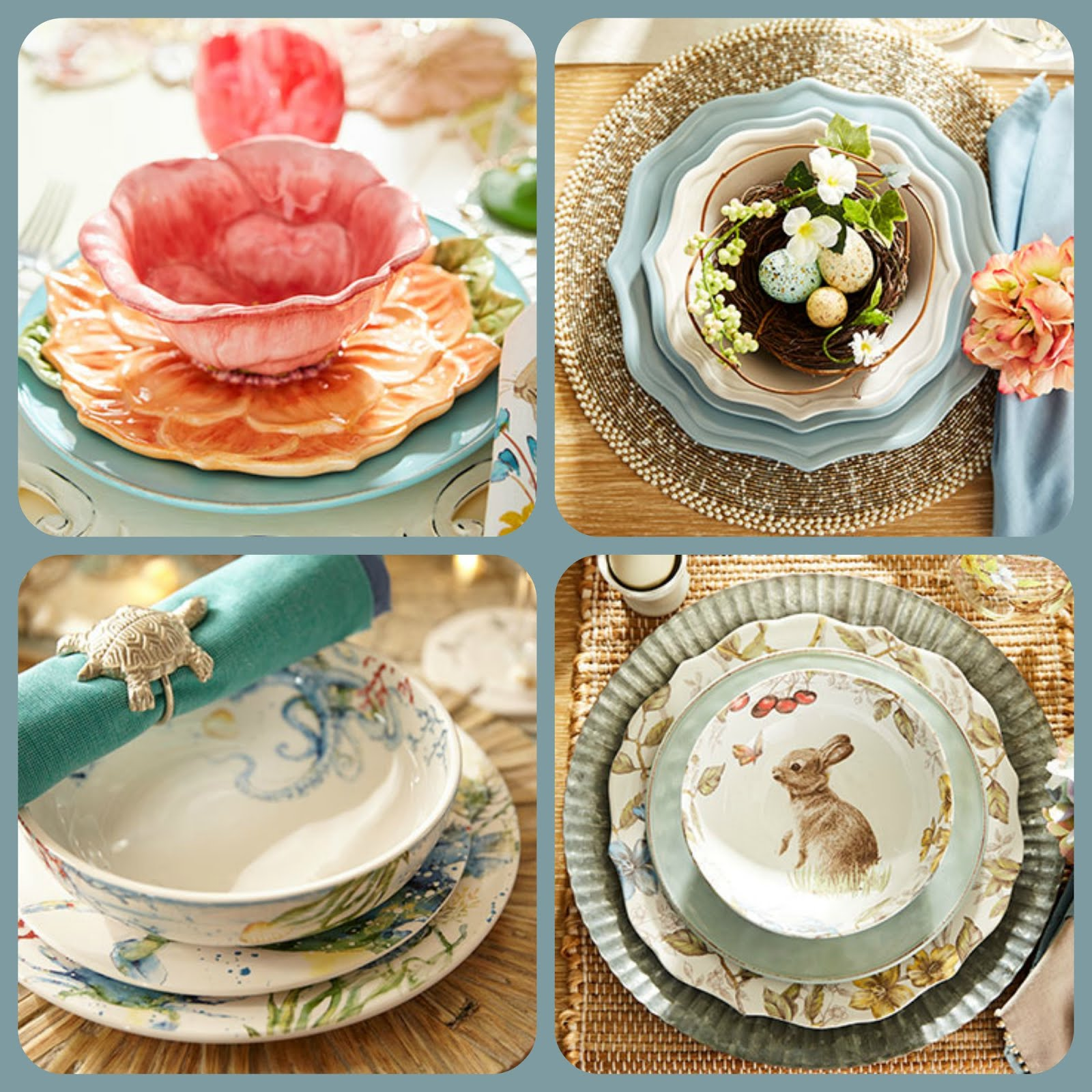 Spring & Easter Table Settings