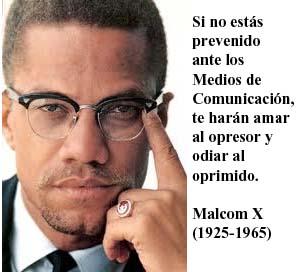 Frase de Malcom X