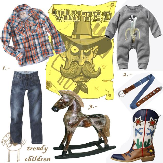 vaquero niño. Trendy Children