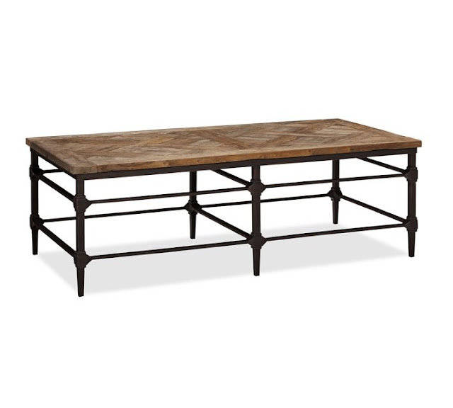 Copy Cat Chic Pottery Barn Parquet Coffee Table