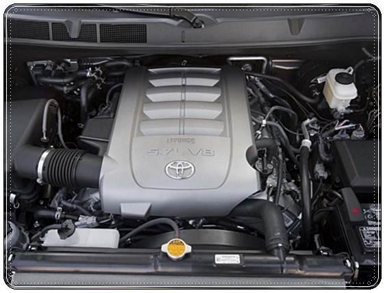 2017 Toyota Sequoia Engine Size
