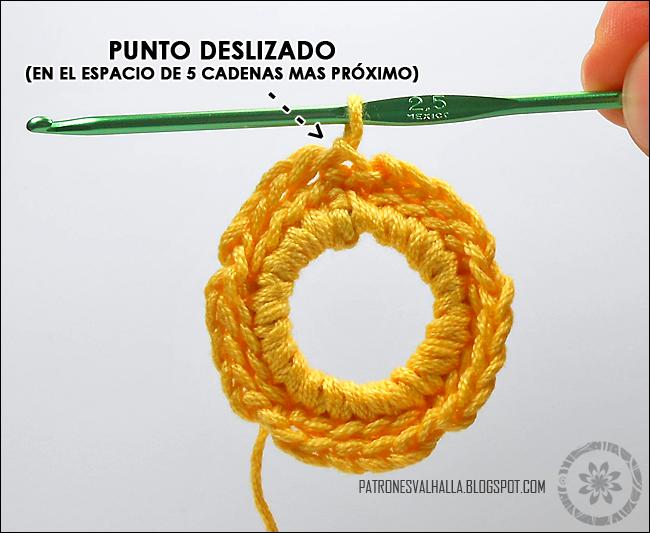Estrella a Crochet #6 (foto-tutorial) - PATRONES VALHALLA: Patrones ...