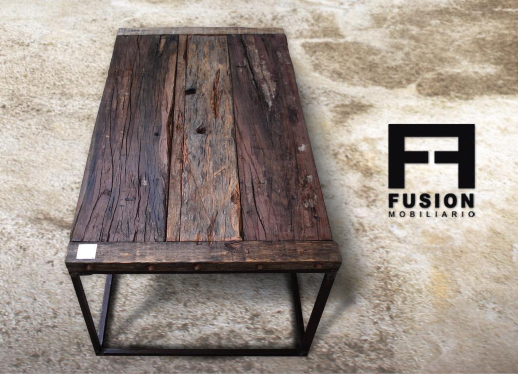 Mesa de living fusion mobiliario for Mesas de living