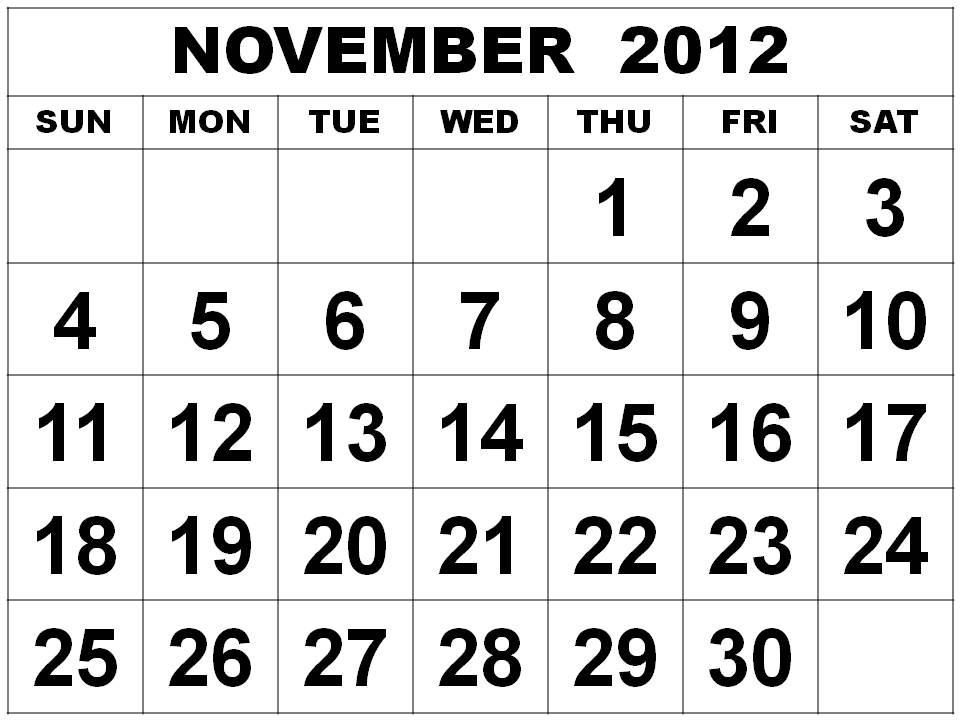 yearly calendar 2012 printable. 2012 Printable Calendar: