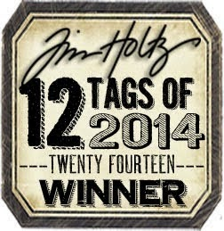Tim Holtz Tag winner for May 2014