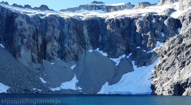 laguna tempanos, glaciar, laguna, bariloche