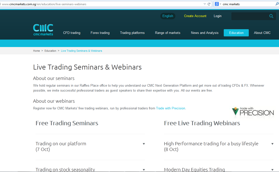Free forex trading course singapore