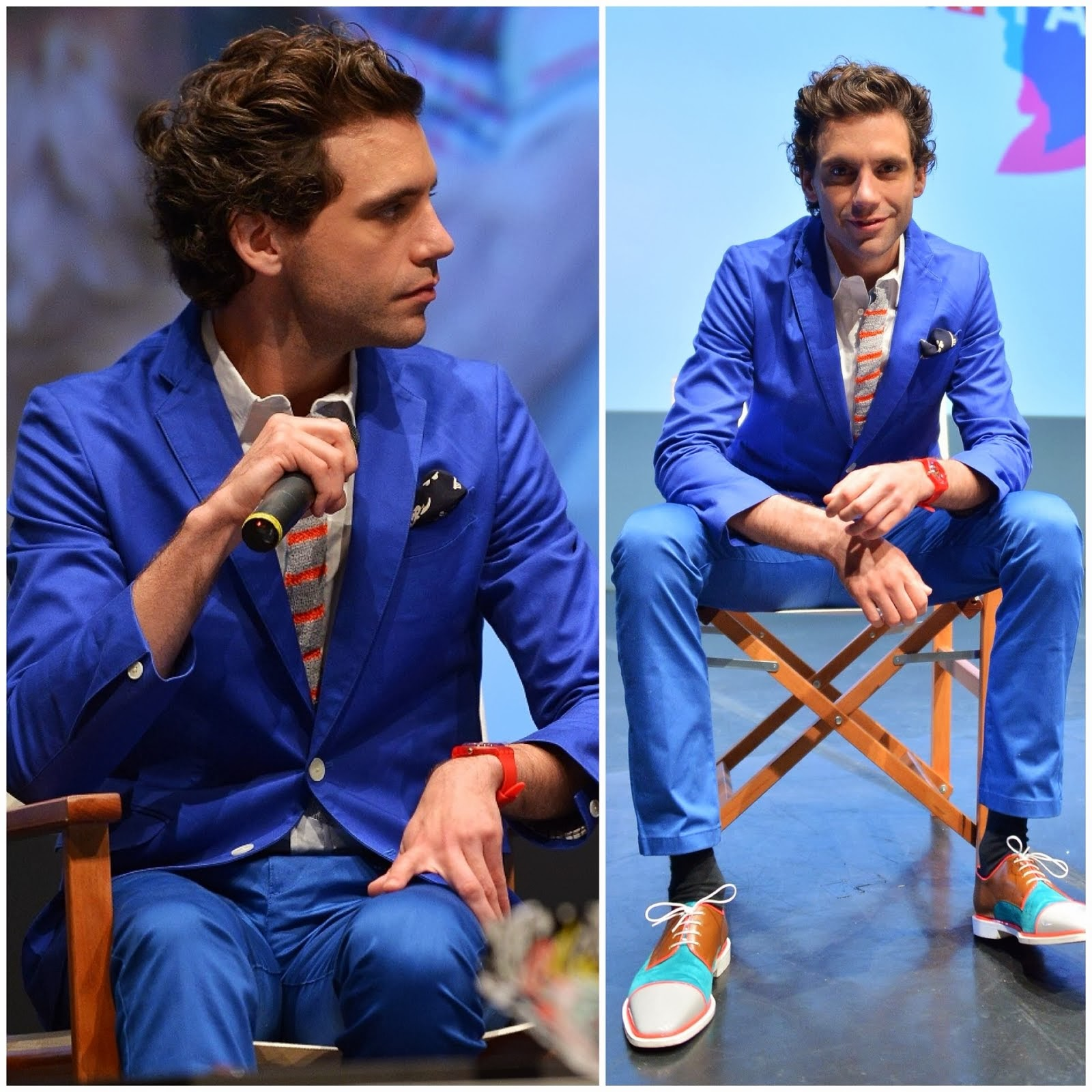 00O00 Menswear Blog: Mika's Christian Louboutin Bruno Orlato men's shoes