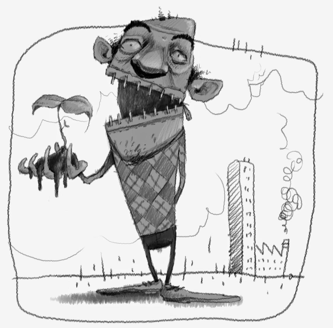 urka illustration sketch digital