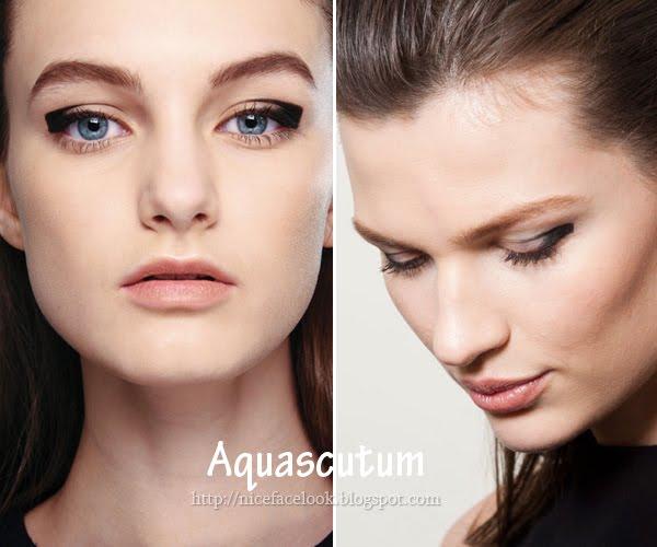 Грим с очна линия Aquascutum зима 2013