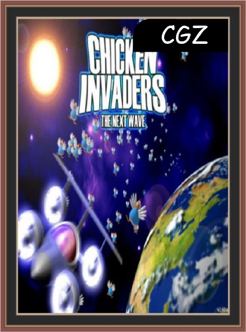 Chicken Invaders-2 The Next Wave FreeDownload Full Version (Cover)